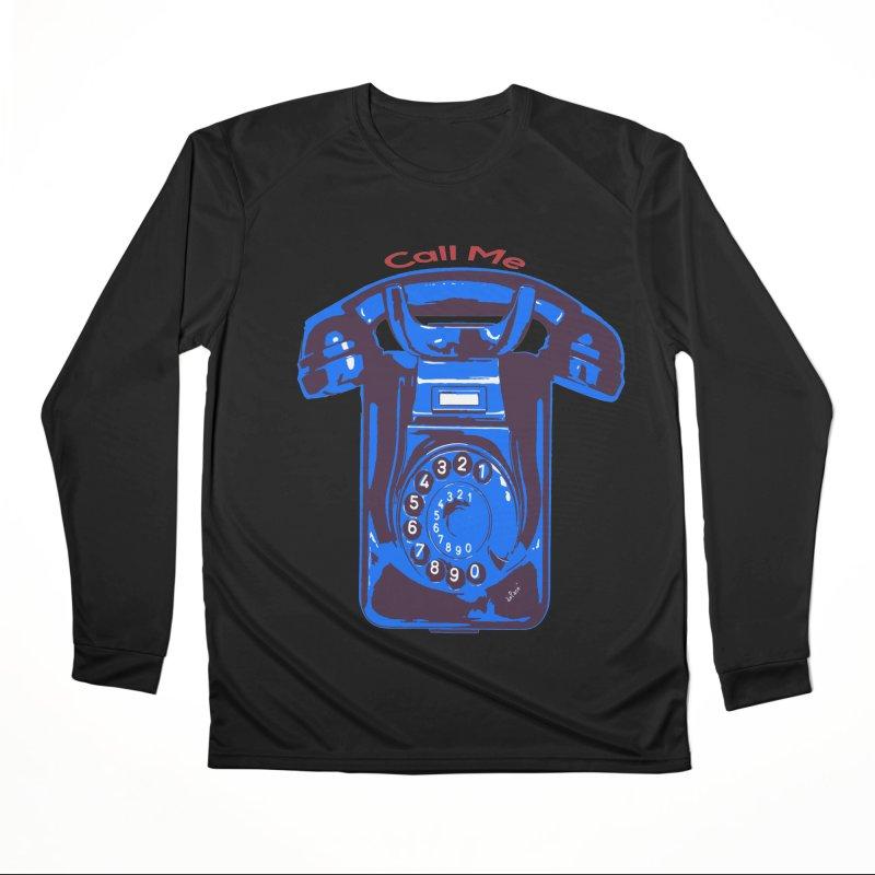 Call Me Women's Performance Unisex Longsleeve T-Shirt by artworkdealers Artist Shop