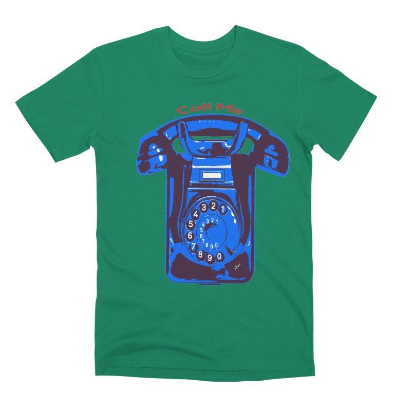 Call Me Men's Premium T-Shirt by artworkdealers Artist Shop