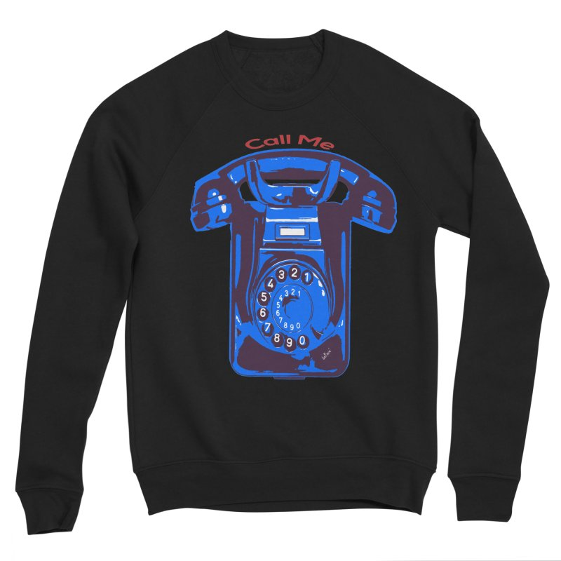 Call Me Men's Sponge Fleece Sweatshirt by artworkdealers Artist Shop