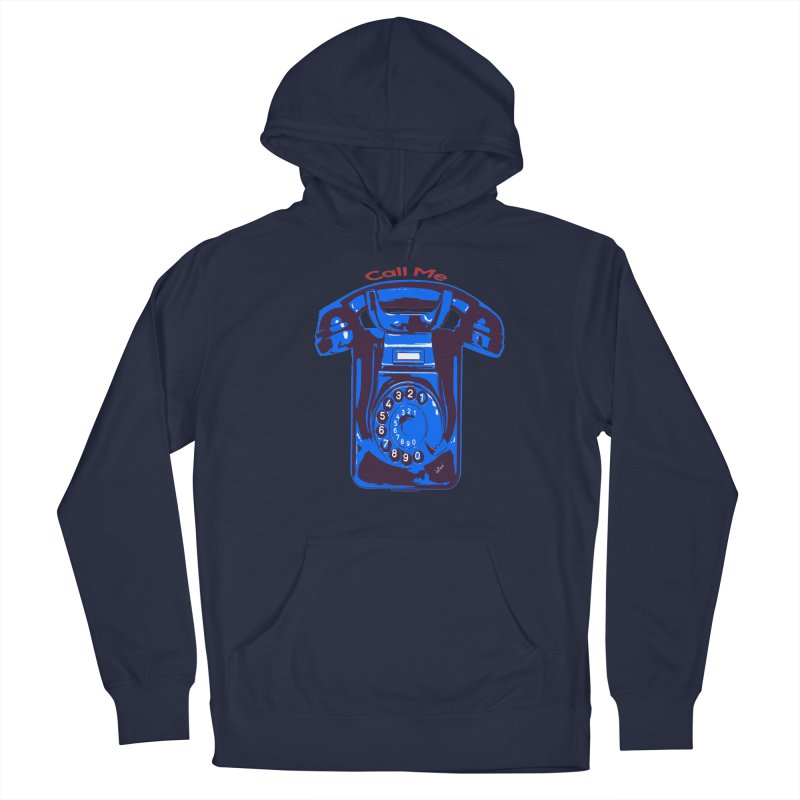 Call Me Men's Pullover Hoody by artworkdealers Artist Shop