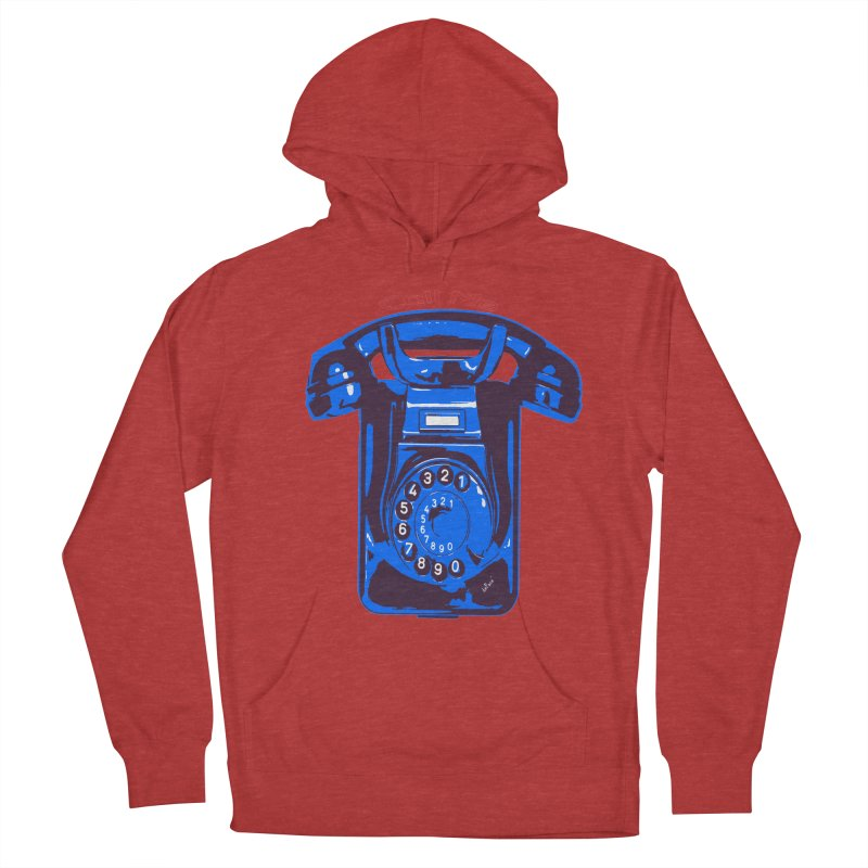 Call Me Women's French Terry Pullover Hoody by artworkdealers Artist Shop