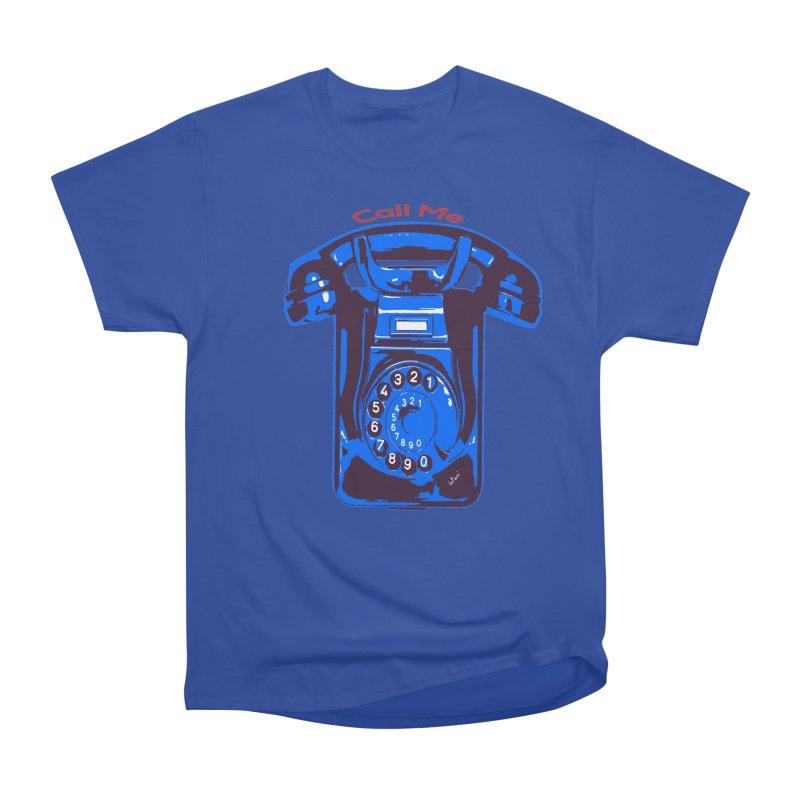 Call Me Women's Heavyweight Unisex T-Shirt by artworkdealers Artist Shop