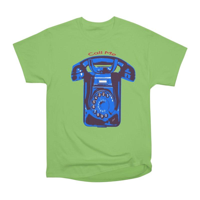 Call Me Men's Heavyweight T-Shirt by artworkdealers Artist Shop