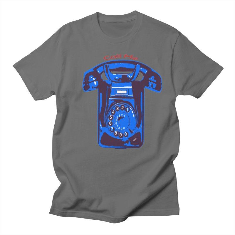 Call Me Men's Regular T-Shirt by artworkdealers Artist Shop
