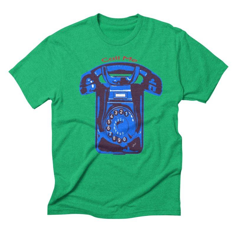 Call Me Men's Triblend T-Shirt by artworkdealers Artist Shop