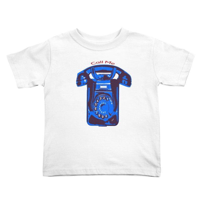 Call Me Kids Toddler T-Shirt by artworkdealers Artist Shop