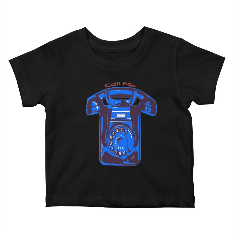 Call Me Kids Baby T-Shirt by artworkdealers Artist Shop