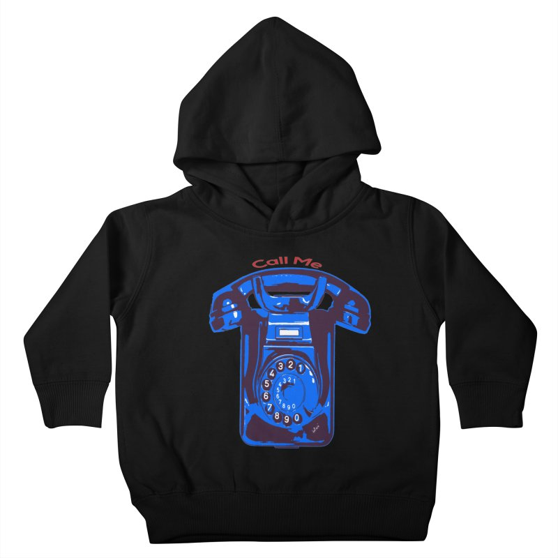 Call Me Kids Toddler Pullover Hoody by artworkdealers Artist Shop
