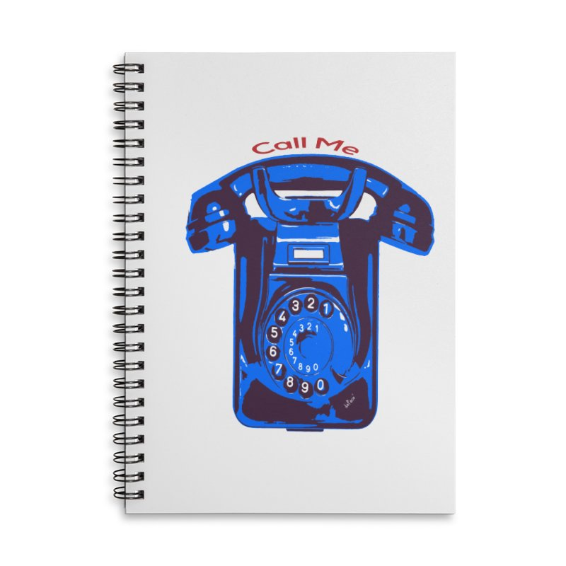 Call Me Accessories Notebook by artworkdealers Artist Shop