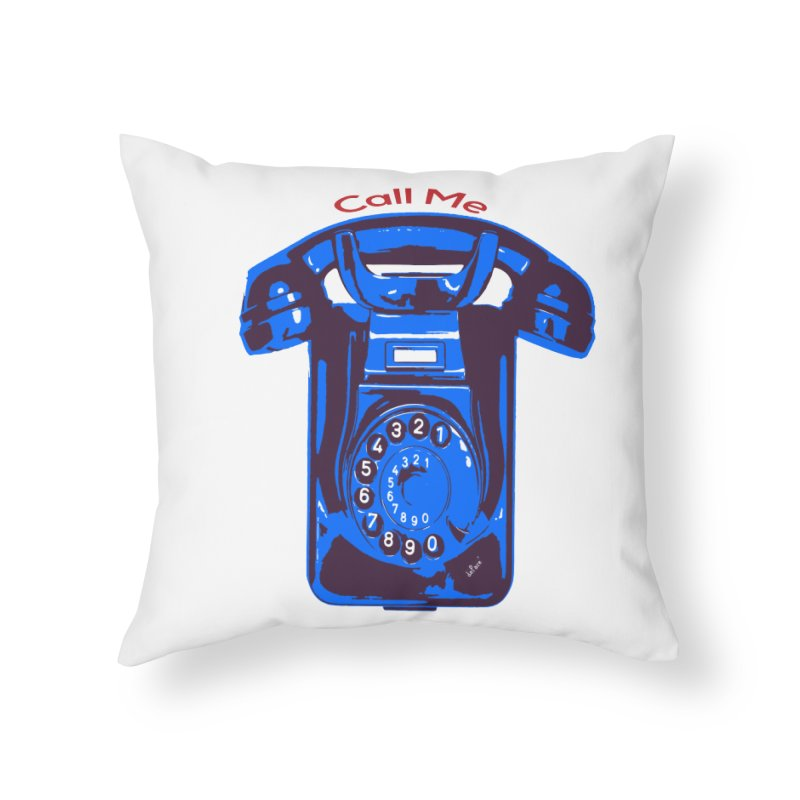 Call Me Home Throw Pillow by artworkdealers Artist Shop