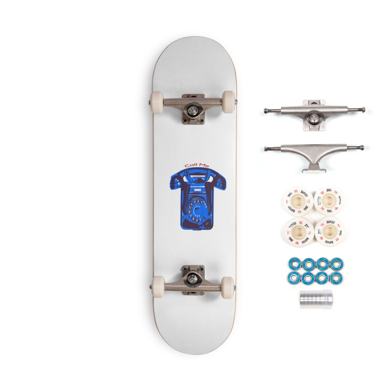 Call Me Accessories Complete - Premium Skateboard by artworkdealers Artist Shop