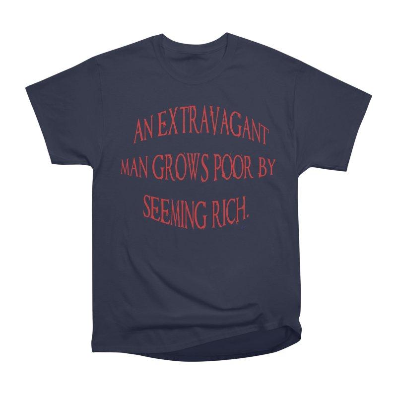Extravagant Man Men's Heavyweight T-Shirt by artworkdealers Artist Shop