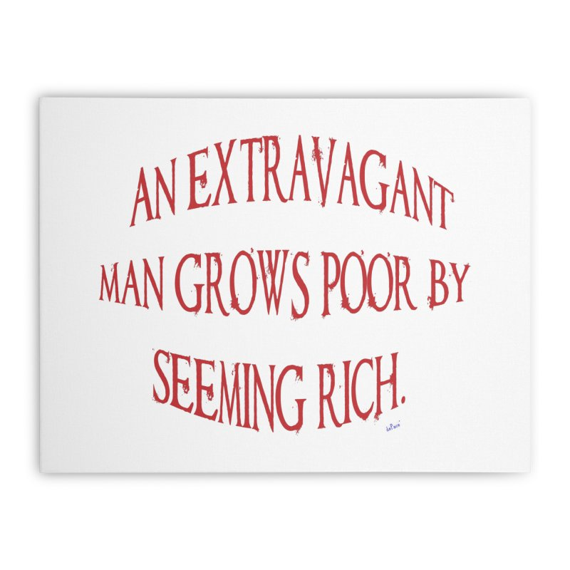 Extravagant Man Home Stretched Canvas by artworkdealers Artist Shop