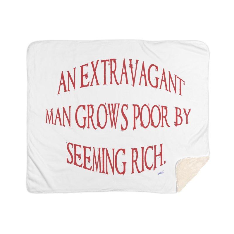 Extravagant Man Home Sherpa Blanket Blanket by artworkdealers Artist Shop