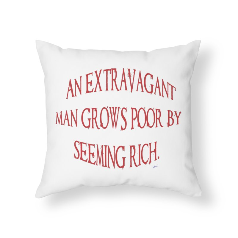Extravagant Man Home Throw Pillow by artworkdealers Artist Shop