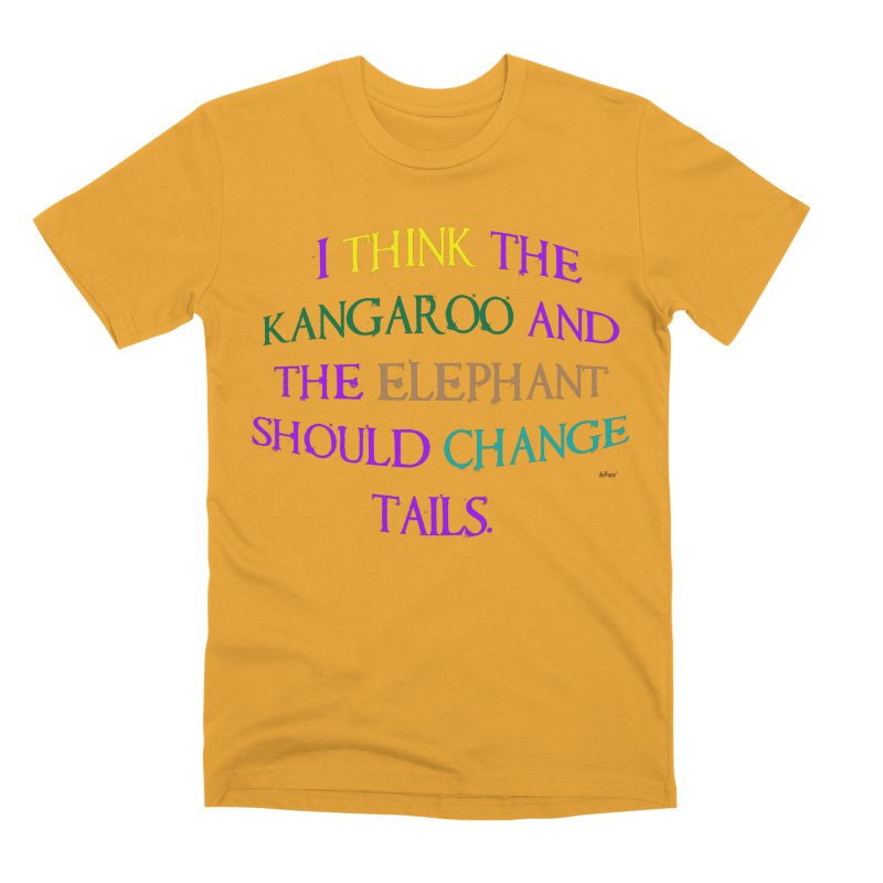 Change Tails Men's Premium T-Shirt by artworkdealers Artist Shop