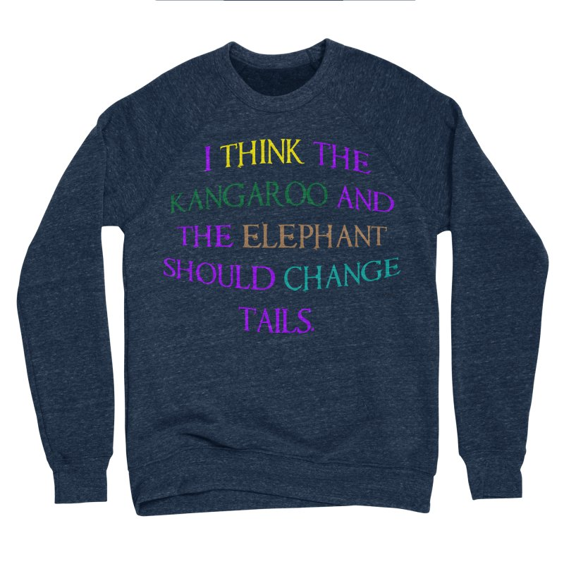 Change Tails Men's Sponge Fleece Sweatshirt by artworkdealers Artist Shop
