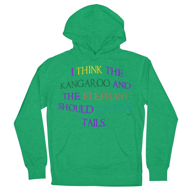 Change Tails Women's French Terry Pullover Hoody by artworkdealers Artist Shop