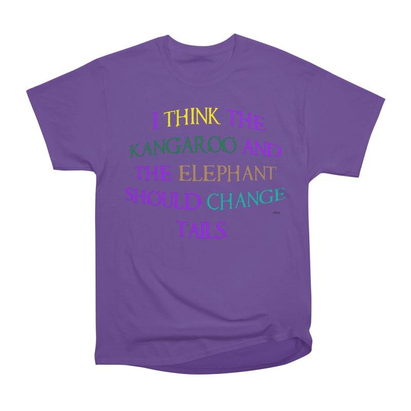 Change Tails Women's Heavyweight Unisex T-Shirt by artworkdealers Artist Shop