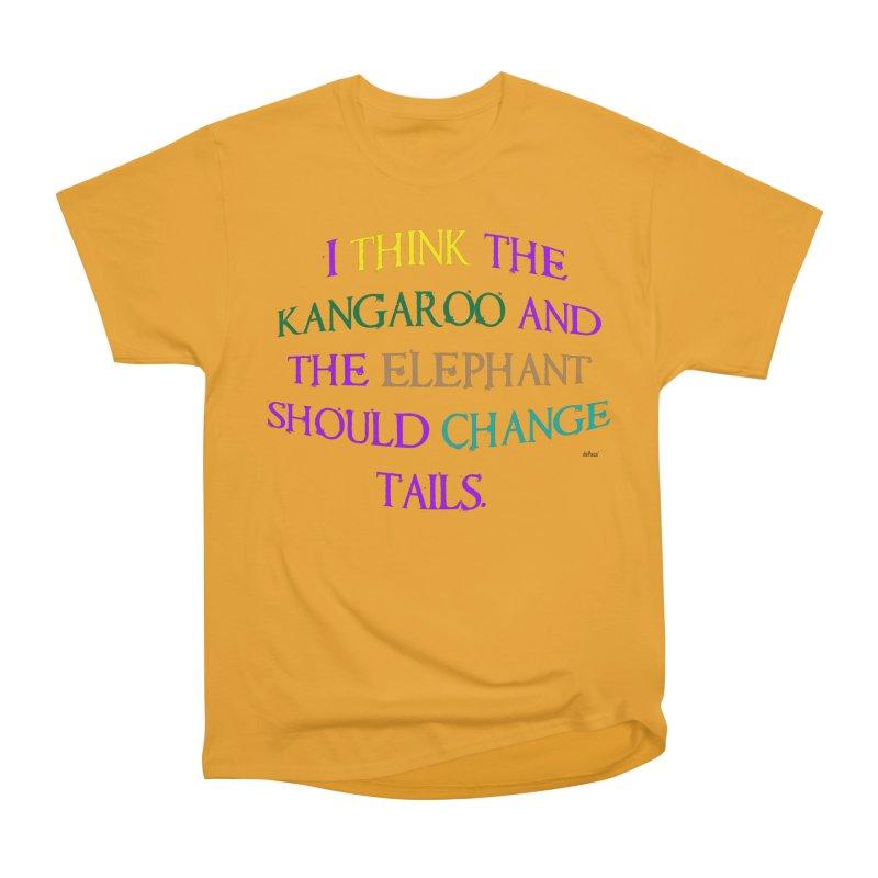 Change Tails Men's Heavyweight T-Shirt by artworkdealers Artist Shop