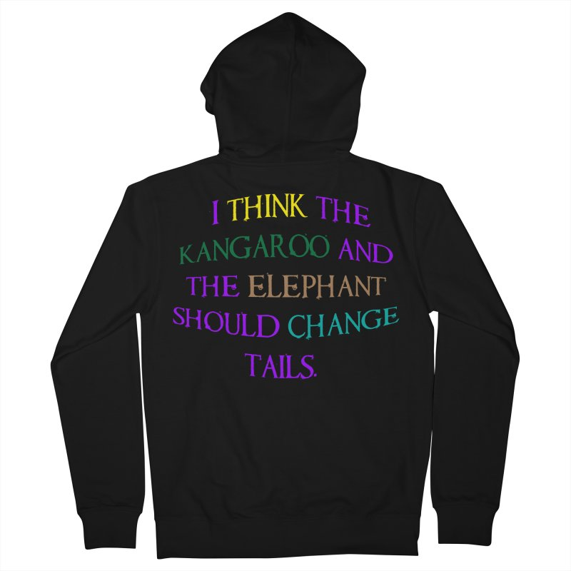 Change Tails Men's French Terry Zip-Up Hoody by artworkdealers Artist Shop