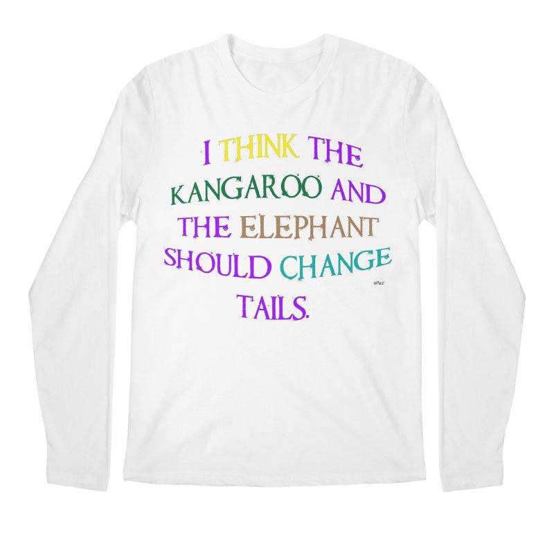 Change Tails Men's Regular Longsleeve T-Shirt by artworkdealers Artist Shop
