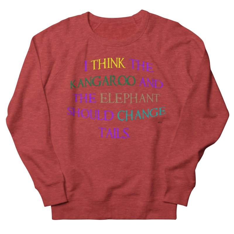 Change Tails Women's French Terry Sweatshirt by artworkdealers Artist Shop