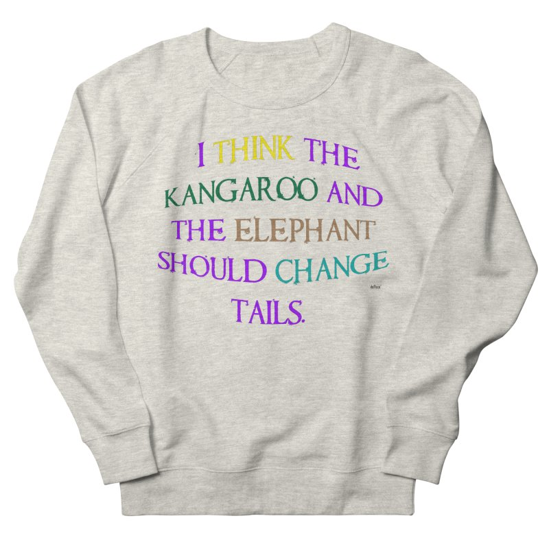 Change Tails Men's French Terry Sweatshirt by artworkdealers Artist Shop
