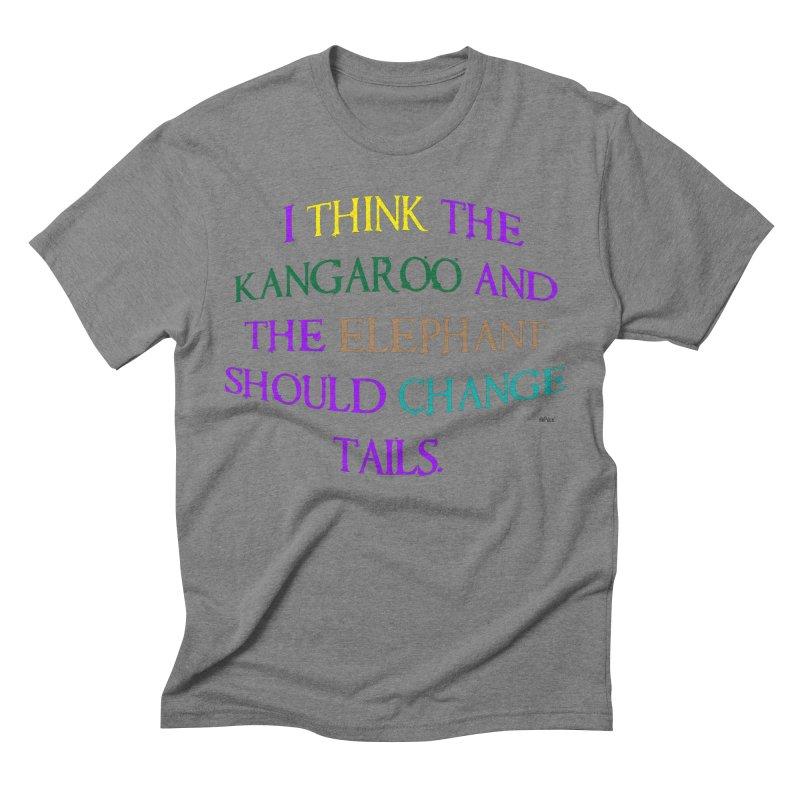 Change Tails Men's Triblend T-Shirt by artworkdealers Artist Shop