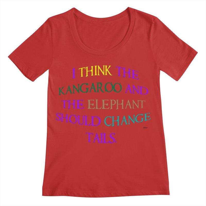 Change Tails Women's Regular Scoop Neck by artworkdealers Artist Shop