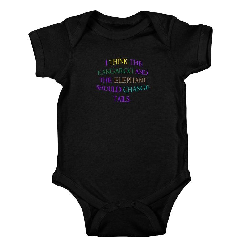 Change Tails Kids Baby Bodysuit by artworkdealers Artist Shop
