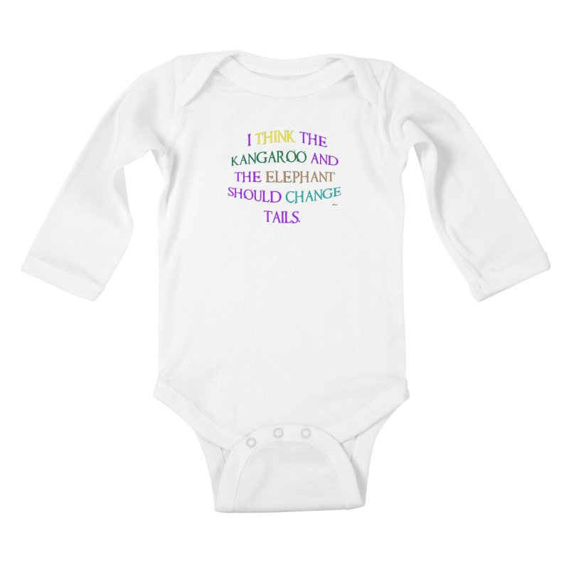 Change Tails Kids Baby Longsleeve Bodysuit by artworkdealers Artist Shop