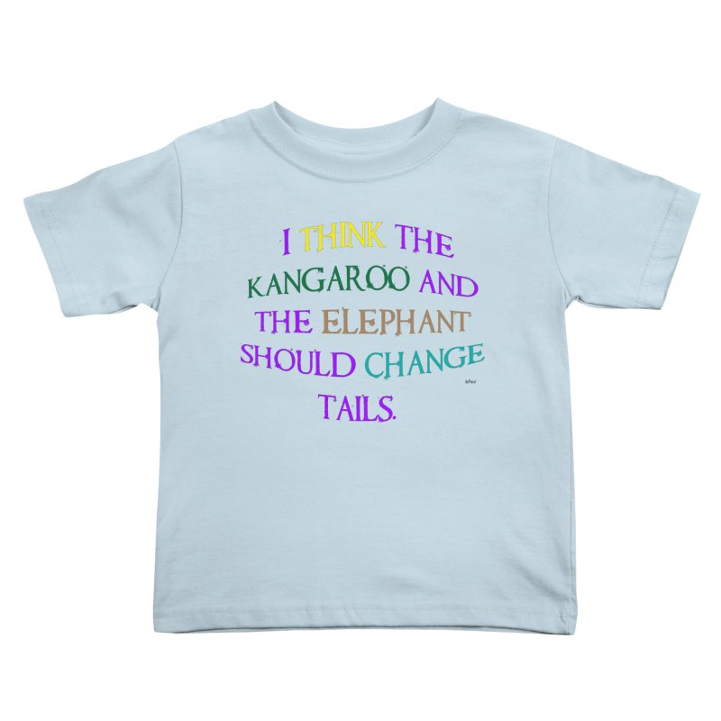 Change Tails Kids Toddler T-Shirt by artworkdealers Artist Shop