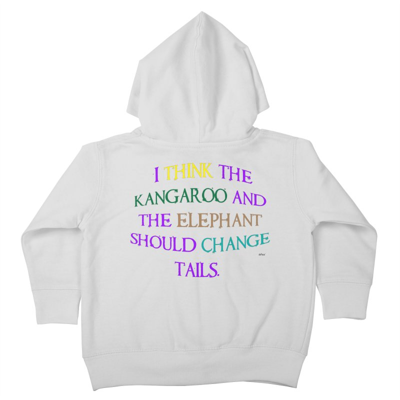 Change Tails Kids Toddler Zip-Up Hoody by artworkdealers Artist Shop