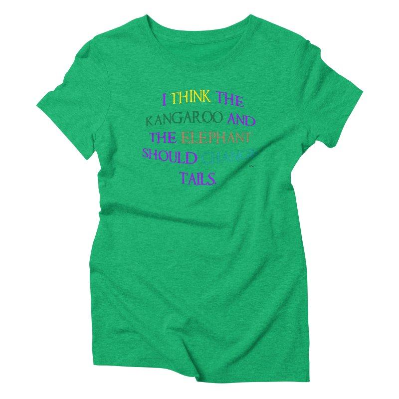Change Tails Women's Triblend T-Shirt by artworkdealers Artist Shop