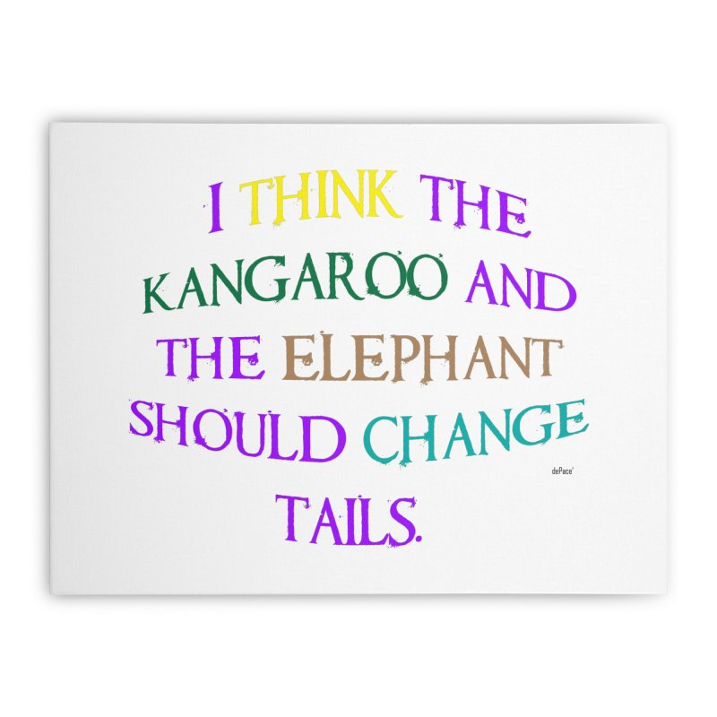Change Tails Home Stretched Canvas by artworkdealers Artist Shop