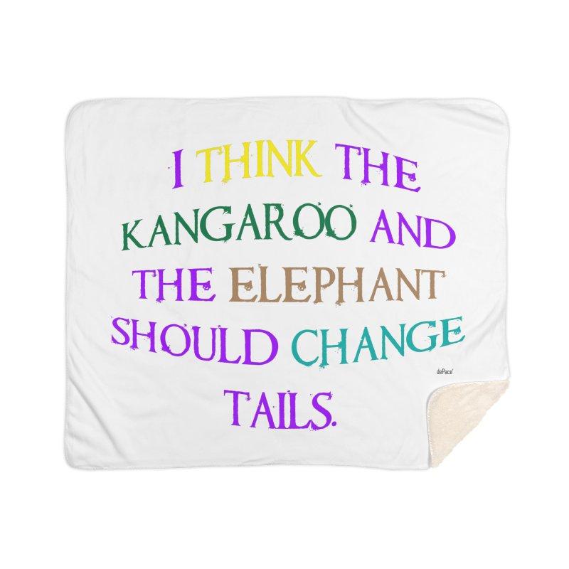 Change Tails Home Sherpa Blanket Blanket by artworkdealers Artist Shop