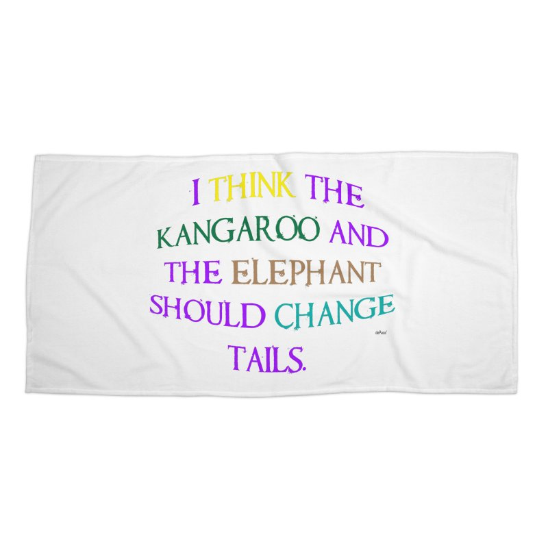 Change Tails Accessories Beach Towel by artworkdealers Artist Shop