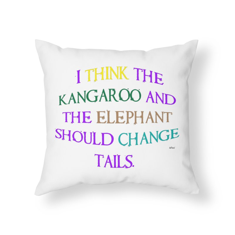 Change Tails Home Throw Pillow by artworkdealers Artist Shop