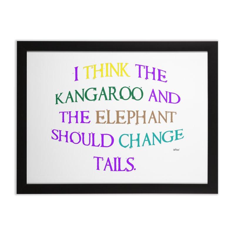 Change Tails Home Framed Fine Art Print by artworkdealers Artist Shop