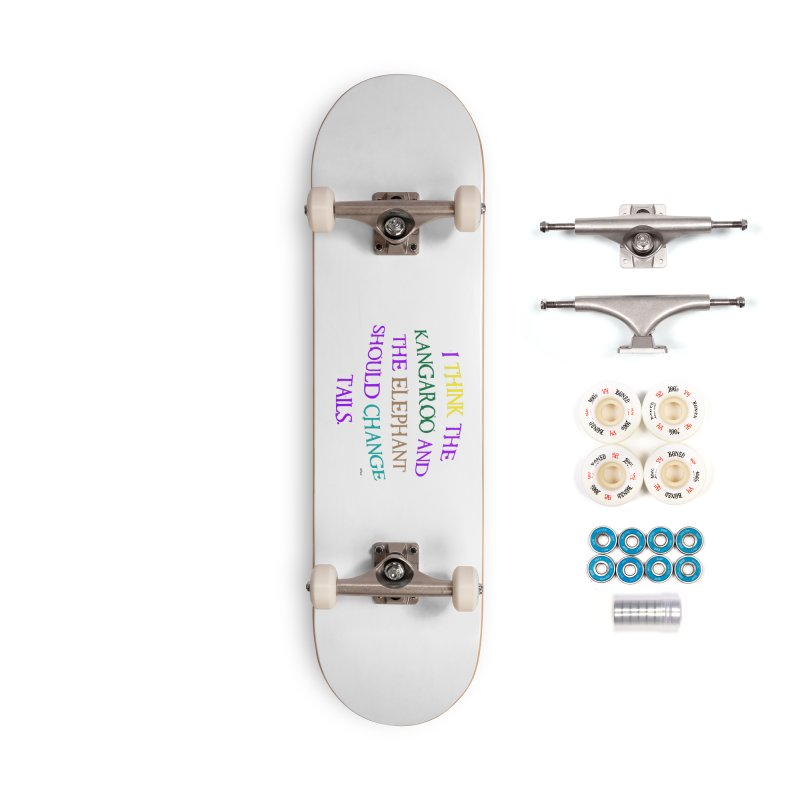 Change Tails Accessories Complete - Premium Skateboard by artworkdealers Artist Shop