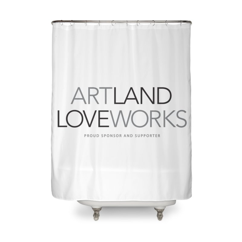 Art Land Love Works Home Shower Curtain by Artworks Loveland