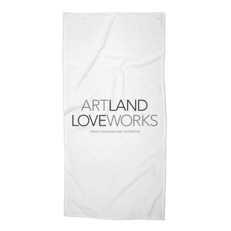 Art Land Love Works Accessories Beach Towel by Artworks Loveland