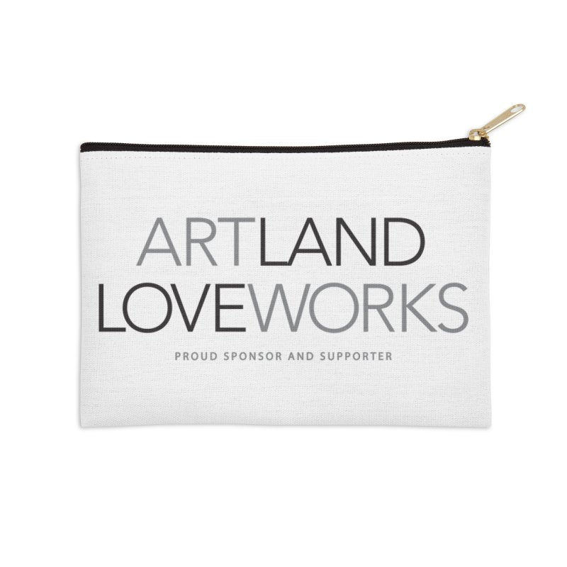 Art Land Love Works Accessories Zip Pouch by Artworks Loveland