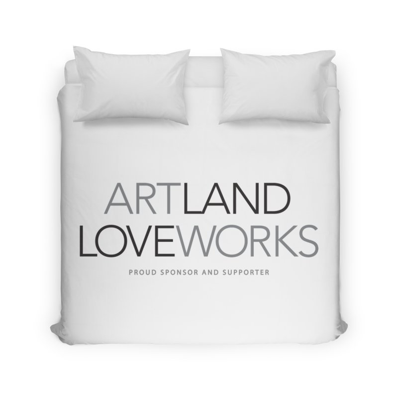 Art Land Love Works Home Duvet by Artworks Loveland