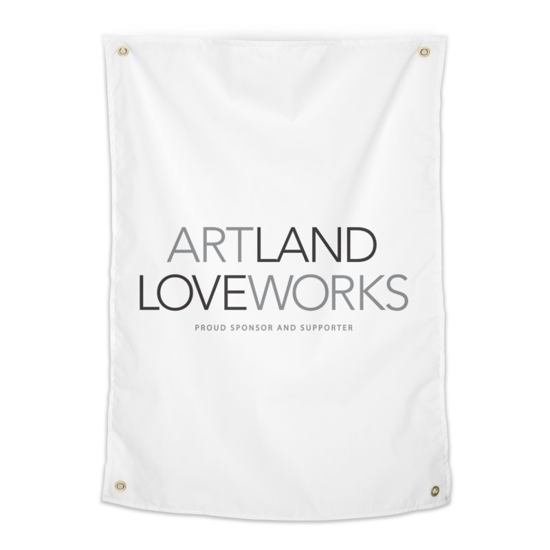 Art Land Love Works Home Tapestry by Artworks Loveland
