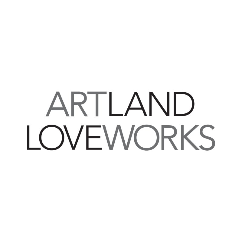 Art Land Love Works Women's Fitted T-Shirt by Artworks Loveland