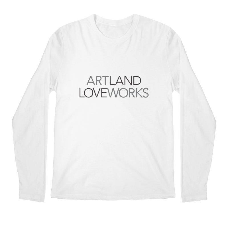 Art Land Love Works Men's Regular Longsleeve T-Shirt by Artworks Loveland