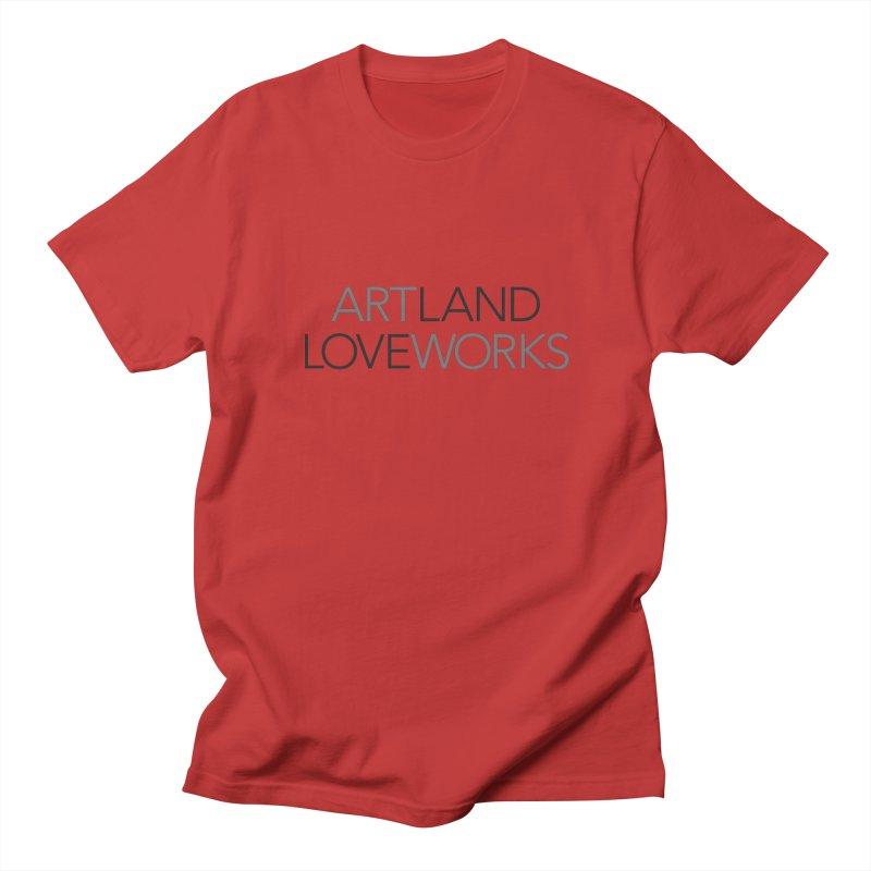 Art Land Love Works Men's Regular T-Shirt by Artworks Loveland