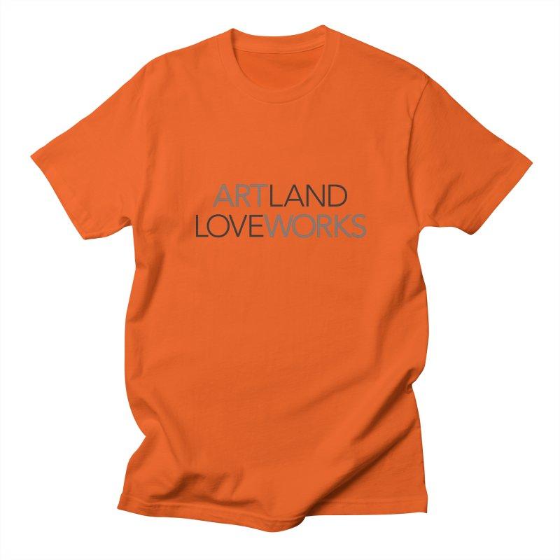 Art Land Love Works Men's T-shirt by Artworks Loveland